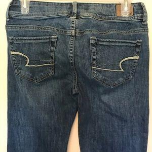 American Eagle Original Boot Denim Jeans Size 4 F7